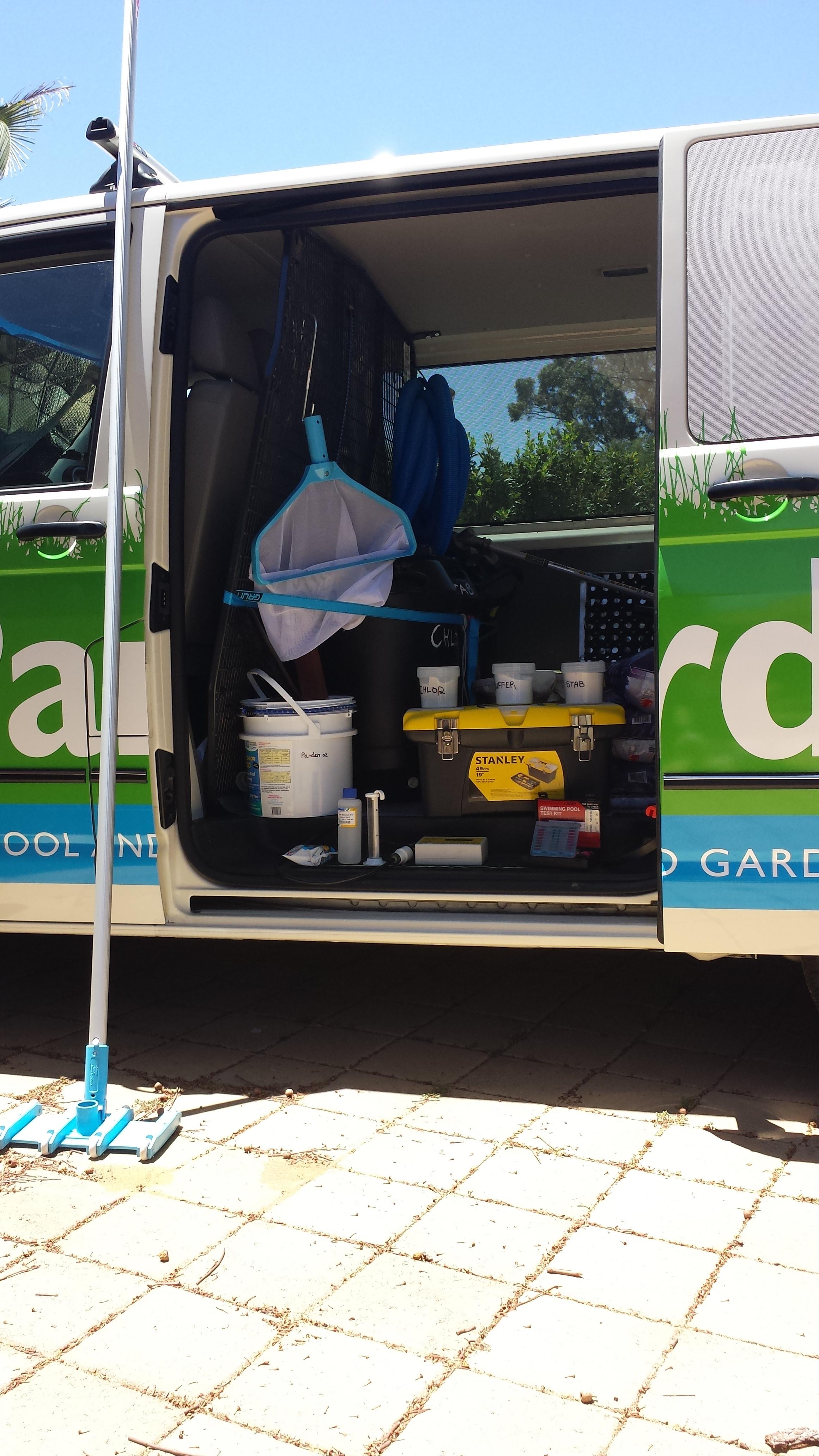 Parden - Pool and Garden Maintenance Perth - Pool Van4